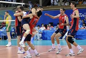 U.S. savors gold of Olympic men's volleyball in 20 years--