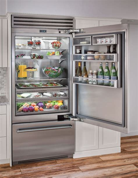 BlueStar BBB36SSR1 36 Inch Built in Refrigerator with 21