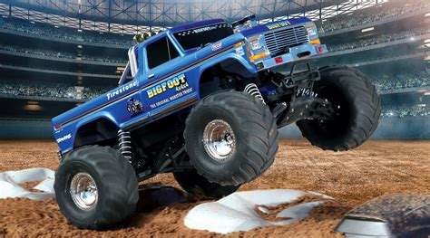new bigfoot monster truck 1 10 bigfoot classic 2wd monster truck brushed rtr blue