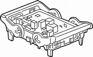 2015 Gmc Sierra 1500 Relay  And  Fuse  Box  Amplifier