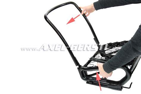 siege fiat 500 armature de siège pliable avec rail verrouillage