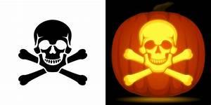 Scary Skull Pumpkin Stencil | www.pixshark.com - Images ...