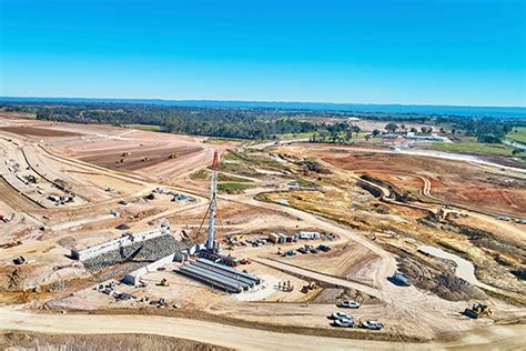 cpb and lendlease reach new western sydney airport milestone inside construction