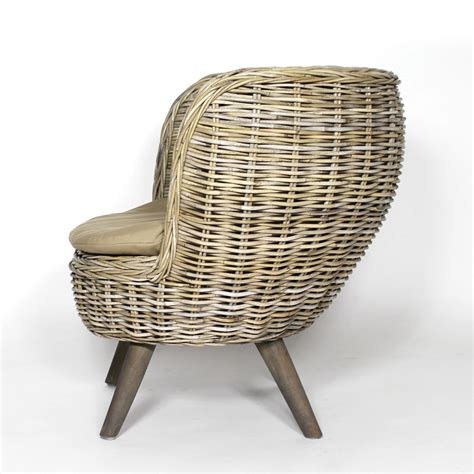 fauteuil en rotin rond style scandinave made in meubles