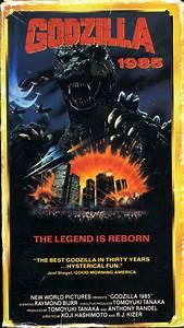 Godzilla 1985  Vhs Box Art