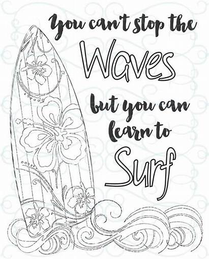 Coloring Inspirational Adult Printable Pages Surf Inspirations