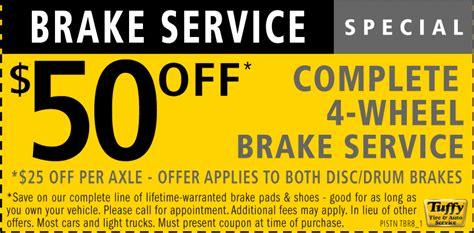 Brakes Service Specials   Best Brake 2017