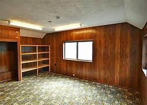Goodbye, 1970s, Wood, Paneling, And, Hello, Drywall