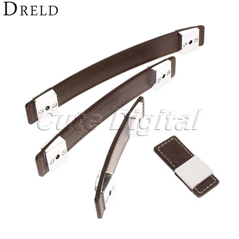 single hole cabinet pulls wholesale leather door handles cupboard pull knobs kitchen