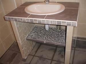 Dsc00242 for Meuble salle de bain carrelé