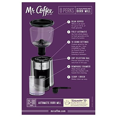 coffee automatic burr mill grinder   custom