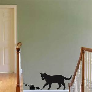 cat wall art stickers by wall art quotes designs by With cat wall decals