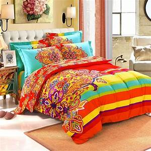 Red, Turquoise, Queen, Bedding, U2013, Bedding, Design, Ideas