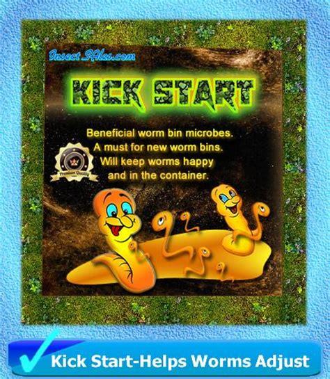 kick start worm button