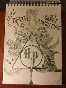 Harry Potter collage drawing … Pinteres…