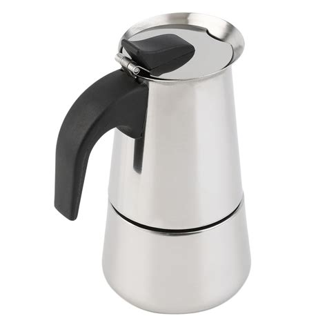 2 cup coffee pot 2 4 cup percolator stove top coffee maker moka espresso latte stainless pot dp ebay