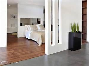 revetement de sol le bon choix With chambre avec salle de bain