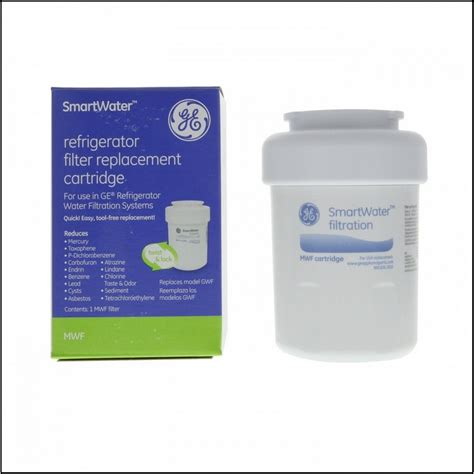 ge profile refrigerator water filter replacement mwf design innovation