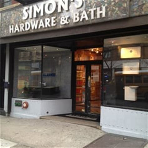 Simon's Hardware & Bath  Hardware Stores  New York, Ny. Bead Board. Modern L Shaped Desk. Cool Home Gadgets. Exercise Room Flooring. Hall Cabinet. Outdoor Privacy Screen. Bronze Door Knobs. Makeup Desk