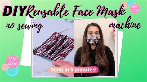 sew  face mask  sewing machine face mask