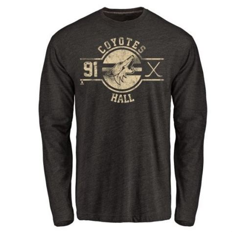 Arizona's scoring by committee might work. Men's Taylor Hall Arizona Coyotes Insignia Tri-Blend Long ...