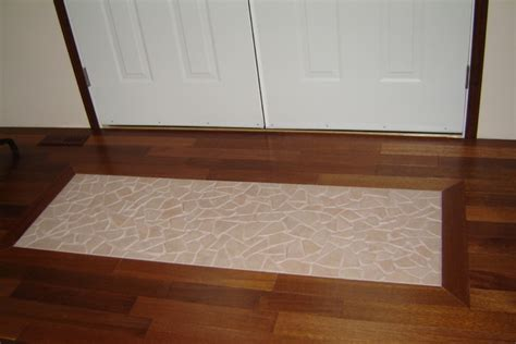 Hardwood Floor With Carpet Inlay   Carpet Vidalondon