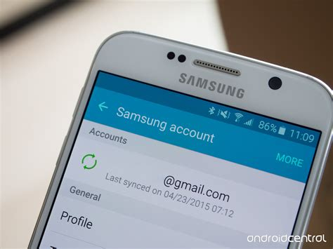 samsung account android do i need a samsung account on my galaxy s6 android central
