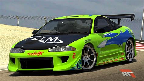 modified mitsubishi eclipse custom mitsubishi eclipse gsx fast and furious
