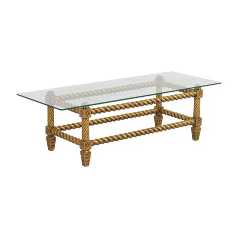 antique glass table ls 73 off antique glass and gold framed coffee table tables
