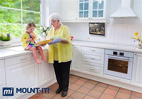 cabinet mount tv for kitchen mount it mi lcdcm kitchen cabinet mount tv ceiling 9527