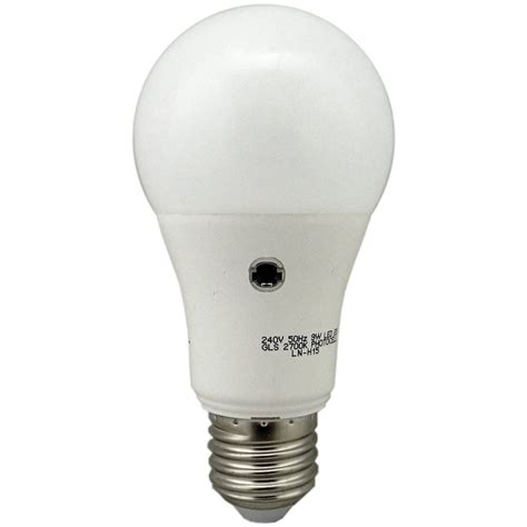 dusk till switching e27 9w led photocell l