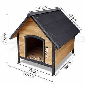 pet dog kennel house extra large timber wooden log cabin With xl indoor dog kennel