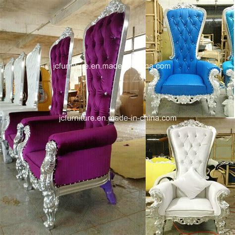 china silver luxury royal throne chairs for sale jc k54