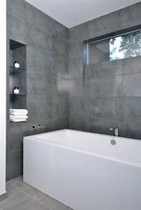 Badezimmer Fliesen Design : grau im badezimmer wanne fliesen design unser traum vom haus badezimmer pinterest ~ Indierocktalk.com Haus und Dekorationen