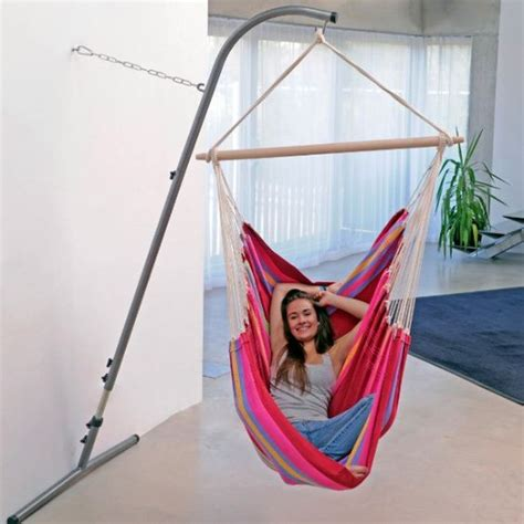 Free Standing Hammock Chair by 26 Ways To Incorporate Hammocks Into Your Interior