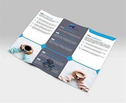 Brochure Fold Tri Behance