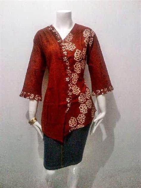 Kebaya Am 222 model blouse batik kerja kartini series call order 085