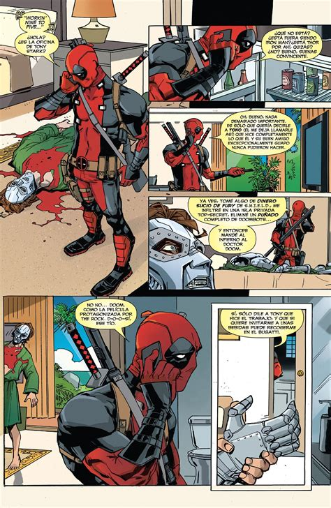 Deadpool Vs Thanos 1 [español]  Comics E Historietas