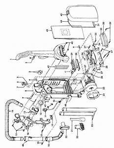 Hoover Model C1703900 Vacuum  Upright Genuine Parts
