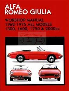 Alfa Romeo Shop Manual Service Repair Book Clymer Spider Gtv Giulia