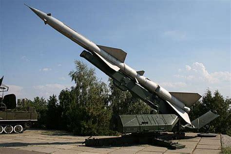 SA-2 Guideline S-75 Dvina Desna Volchov ground air missile ...