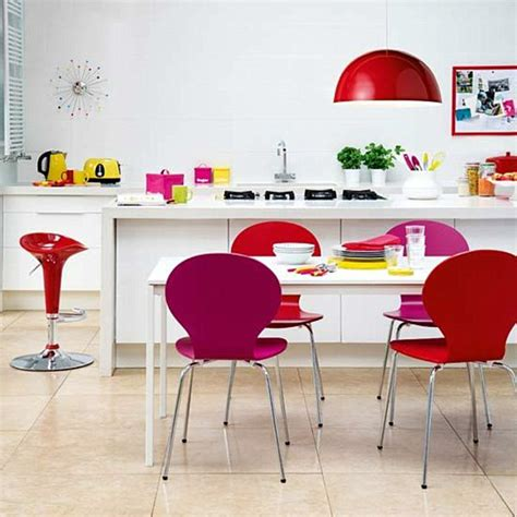 brightly coloured kitchen accessories rainbow designs 20 colorful home decor ideas 4919
