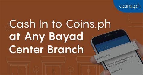 cash   coinsph   bayad center branch coinsph