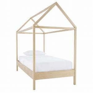 Cabane Lit Enfant : lit cabane enfant 90x190 en pin wild maisons du monde ~ Melissatoandfro.com Idées de Décoration
