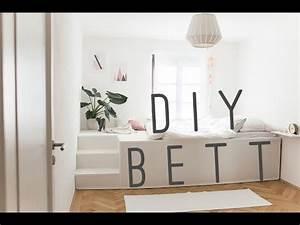 Podest Selber Bauen Bett : diy bett youtube ~ Markanthonyermac.com Haus und Dekorationen