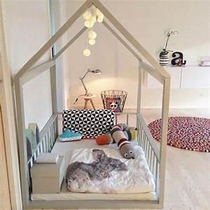 Lit Cabane Au Sol : d co chambre d enfant astuces pour rendre sa chambre fun ~ Premium-room.com Idées de Décoration