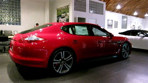 2013 Porsche Panamera Gts In Carmine Red For Sale In