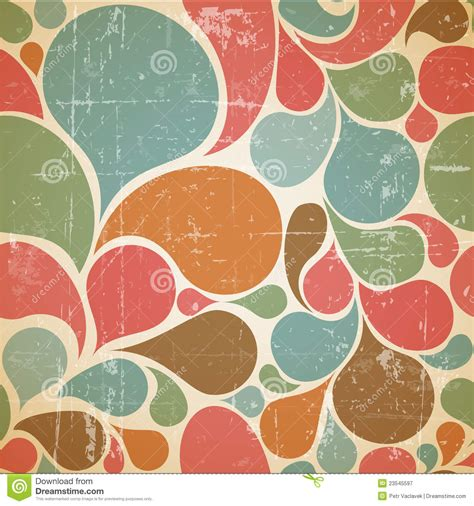 vector colorful abstract retro pattern stock vector