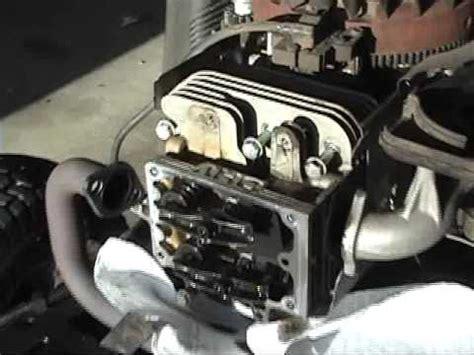 head gasket repair   craftsman lawn tractor ph