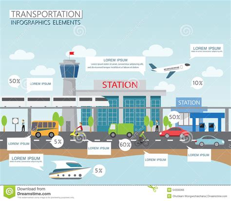 airport template free web transportation and city stock vector image of background